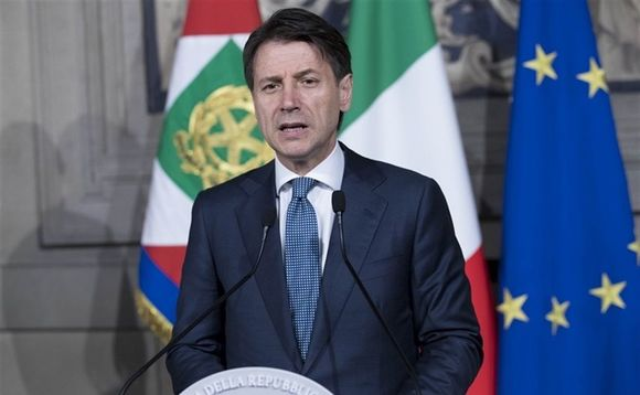 Italian prime minister Giuseppe Conte. Photo: Presidency of the Italian Republic