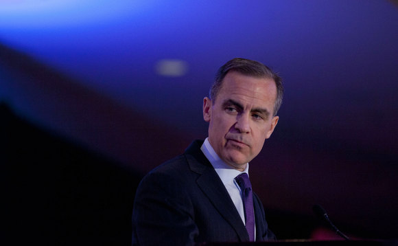Outgoing Governor of the Bank of England Mark Carney