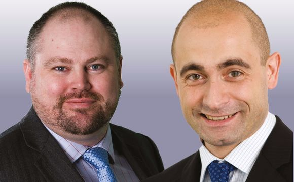 John Ventre (left) and François Zagamé of Old Mutual Global Investors