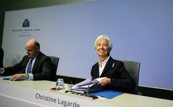 ECB President Christine Lagarde at today's meeting. Photo: ECB/Flickr CC BY-NC-ND 2.0