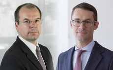 Marc-Olivier Buffle and Cedric Lecamp of Pictet Asset Management