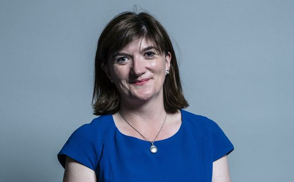 Nicky Morgan MP, chair of the Treasury Select Committee. Photo: UK Parliament