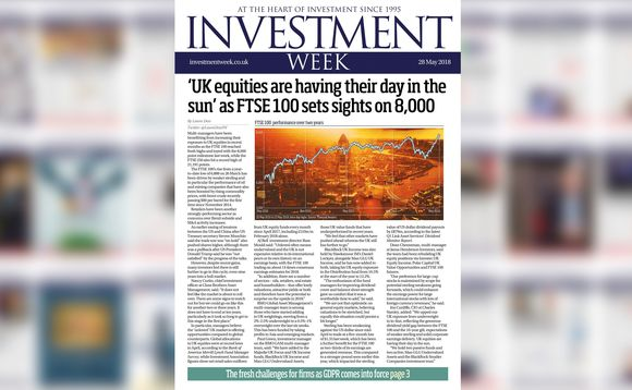 Investment Week - 28 May 2018 digital edition