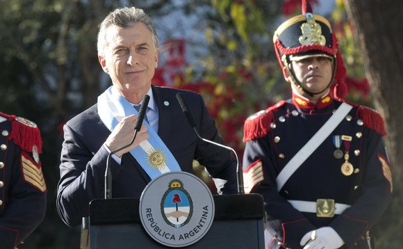 Argentine president Mauricio Macri. Photo: Argentina Ministry of Culture/Flickr CC BY-SA 2.0