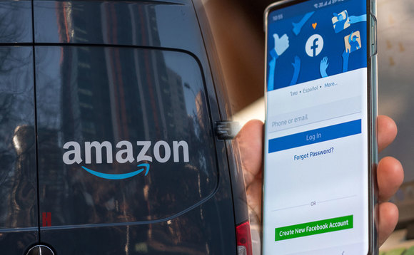 Amazon and Facebook scored low in the disclosure and energy usage ratings, according to research