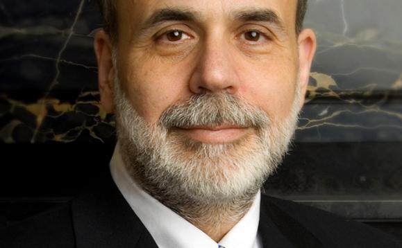 US GDP revised down ahead of Bernanke speech
