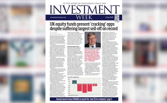 Investment Week digital edition - 13 July 2020