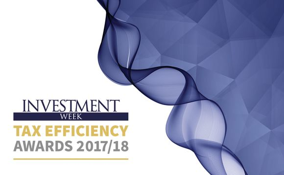 Investment Week Tax Efficiency Awards 2017/18