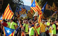 Spanish markets and euro hit as Catalan Parliament declares independence