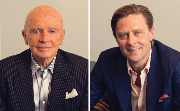 Mark Mobius and Carlos Hardenberg of the Mobius Investment Trust