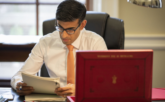 Chancellor Rishi Sunak preparing for the Budget. Photo: HM Treasury/Flickr CC BY-NC-ND 2.0