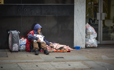 Rough sleeping has been on the rise over the past year in London