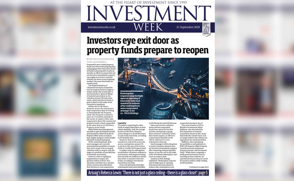 Would you like Investment Week delivered to your door?