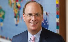 "BlackRock's Larry Fink has previously embraced sustainability as the ""new standard"" for investing"