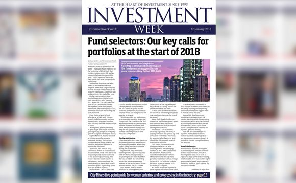 Investment Week - 22 January 2018 digital edition