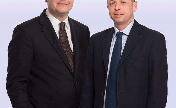 Liontrust's Julian Fosh (left) and Anthony Cross (right) have built a stake in Tatton AM