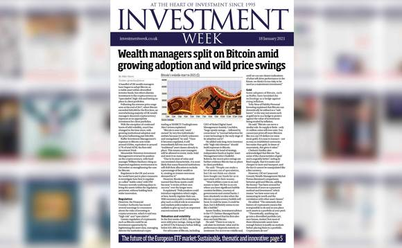 Investment Week - 18 January 2021 digital edition