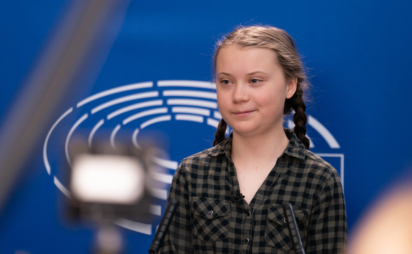 Managers point to campaigner Greta Thunberg as influential in ESG inflows. Photo: European Parliament/Flickr CC BY 2.0