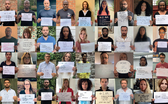 The #IAM Campaign saw leading industry figures taking a stand against racism