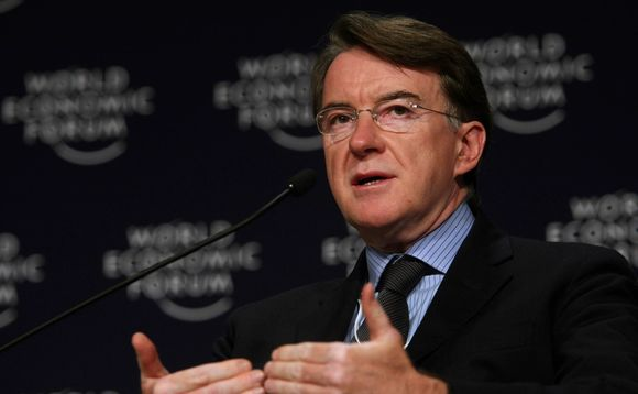 Lord Mandelson. Photo: World Economic Forum/Flickr/Creative Commons CC BY-NC-SA 2.0
