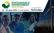 Incisive Media welcomes Schroders as multi-channel sponsor of the Sustainable Investment Festival