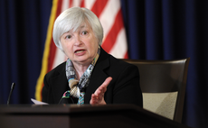 Dollar and treasury yields rise on hawkish Yellen speech