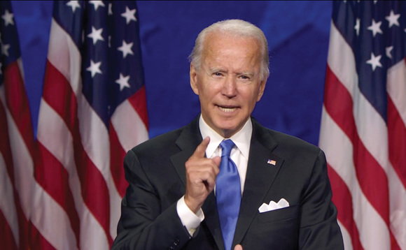 Presidential hopeful Joe Biden. Photo: Democratic National Convention v/DPA/PA Images