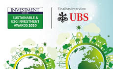 Sustainable and ESG Investment Awards finalist interview: UBS Asset Management